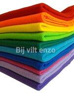 10 lappen acrylvilt Regenboog Bij vilt enzo