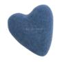 Wollen Vilt Hart Blauw