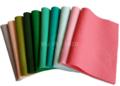 Wolvilt Assortiment Botanic Pink bevat 10 lapjes